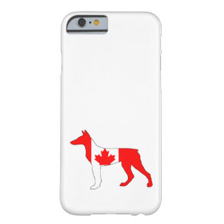Doberman Canadá Capa Barely There Para iPhone 6