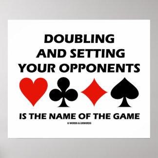 Dobrando e ajustando seus oponentes ponte