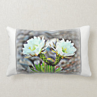 Dobro lombar do travesseiro do algodão flor do almofada lombar