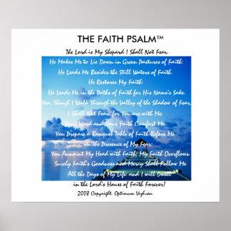 Doca da água do salmo da fé de WarriorsCreed