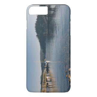 Docas e água pouco profunda de madeira capa iPhone 7 plus