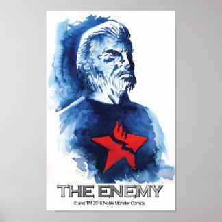 Docc Ronin -- O inimigo poster 11 x 17