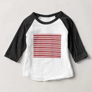 Doce-Bastão-Listra #13 Camiseta Para Bebê