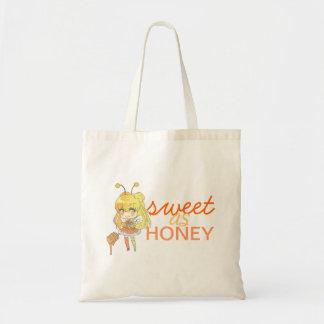 doce como o mel sacola tote budget