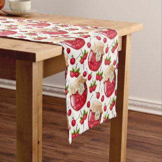 """Doce de cereja 14"""" X 72"""" corredor da mesa Caminho De Mesa Pequeno"""