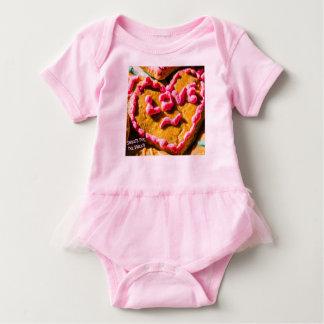 Doces para o Bodysuit doce do tutu do bebê Body Para Bebê