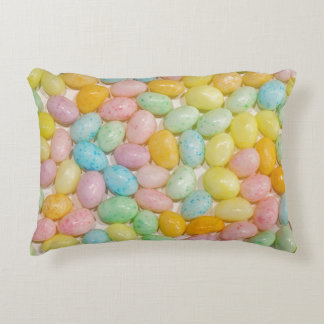 Doces Pastel doces da páscoa dos feijões de geléia Almofada Decorativa