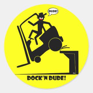 Dockn DUDE-1 Adesivo