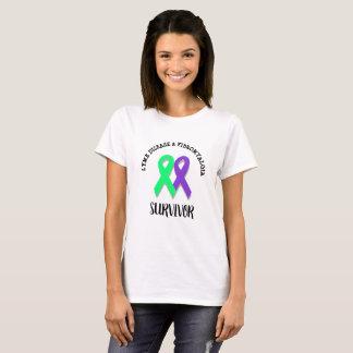 Doença de Lyme e camisa do guerreiro da