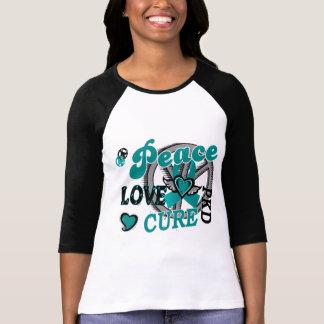 Doença renal Polycystic da cura 2 PKD do amor da Camiseta