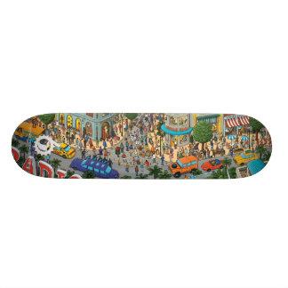 DOENTES DE RÁDIO DA MOVIMENTAÇÃO: LOJA ver. do PED Shape De Skate 21,6cm