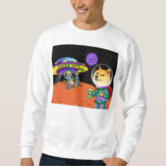 Doge Astro de Shibe e os desenhos animados dos Moleton
