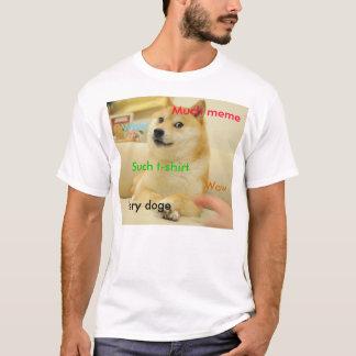 Doge Meme - Tshirt Camiseta
