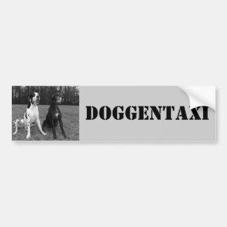 Dogge alemão, Great Dane, Arlequim, Táxi, Autocola Adesivo Para Carro