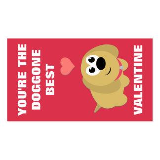 Doggone melhor os mini namorados cartão de visita