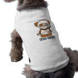 Doggy de Ninja! Roupa do animal de estimação Camisa Sem Mangas Para Cachorro