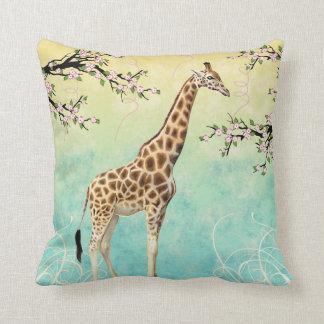 Dogwood do girafa almofada