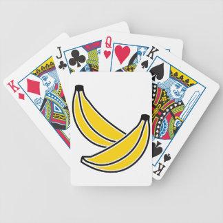 dois-bananas baralhos de pôquer