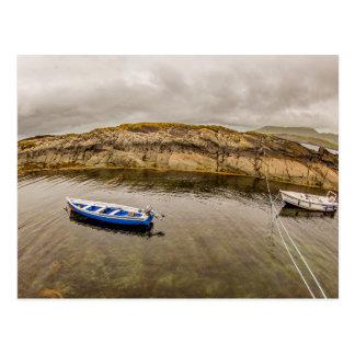"""""""Dois barcos de pesca, cartão de Ireland"""""""