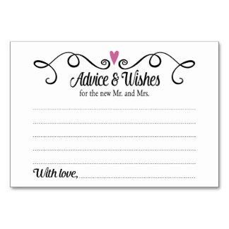 Dois corações conselho e cartão de casamento dos