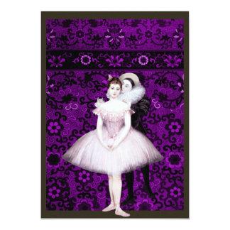 Dois dançarinos convites