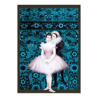 Dois dançarinos convites personalizados