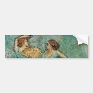 Dois dançarinos por Edgar Degas Adesivos