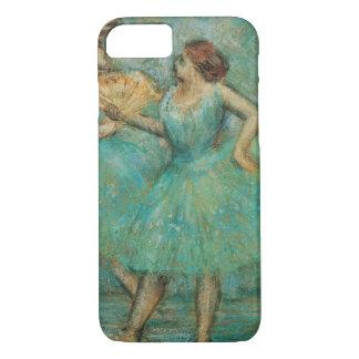 Dois dançarinos por Edgar Degas Capa iPhone 7