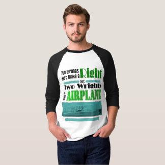 Dois erros não fazem um direito camiseta