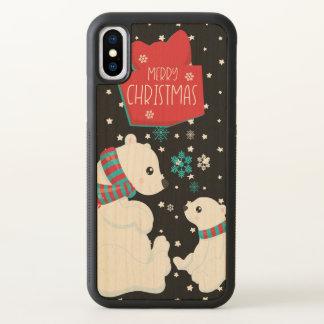 Dois Felizes Natais dos ursos polares