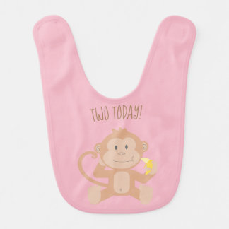 Dois Monkey hoje o babador