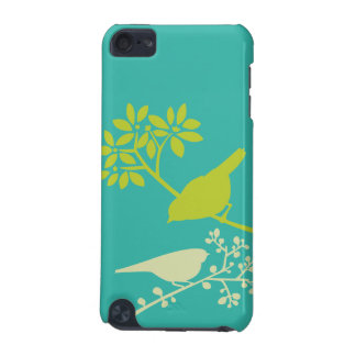 Dois pássaros pequenos capa para iPod touch 5G