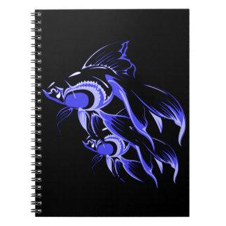 Dois peixes cadernos