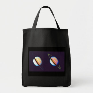 Dois planetas de Saturn Bolsas Para Compras