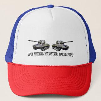 Dois tanques nunca esquecem - o chapéu do boné