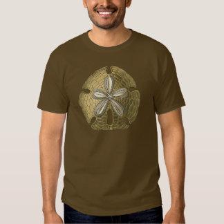 Dólar de areia do ouro camisetas
