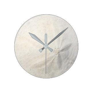 Dólar de areia relógio redondo