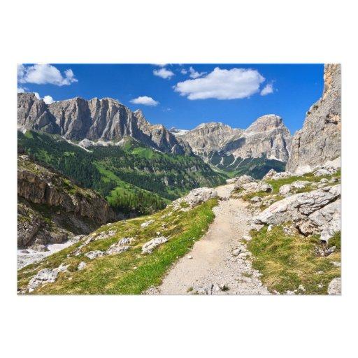 Dolomiti - passeio em Val Badia Convites Personalizados