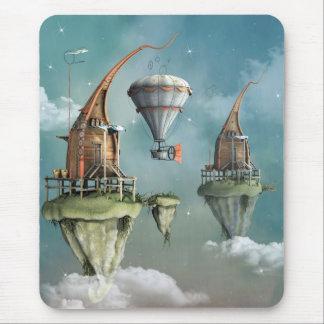 Domicílio do céu da fantasia mousepad