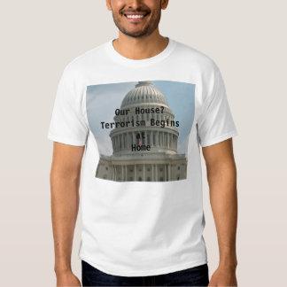 Domínio eminente t-shirts