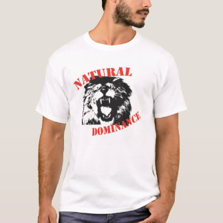 Domínio natural camiseta