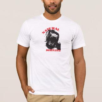 Domínio natural do gorila camiseta