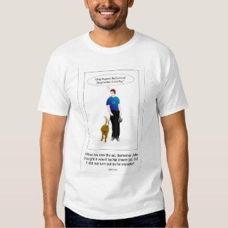 Domínios: Coletor profissional da gota? Camisetas