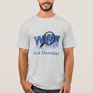 Domínios obtidos? camisetas