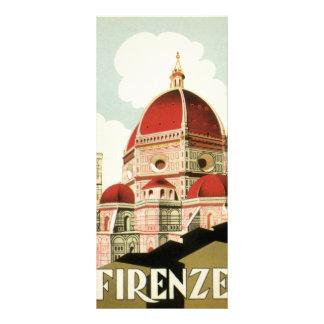 Domo da igreja de Florença Firenze Italia das Panfleto Informativo Personalizado