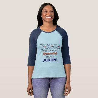 Donald de comércio para camisetas engraçadas de