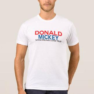 Donald & Mickey, fazem sonhos vir verdadeiro! Camiseta