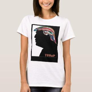 Donald Trump Combover psicadélico Camiseta