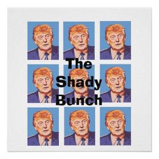 Donald Trump engraçado o poster obscuro do grupo Poster Perfeito