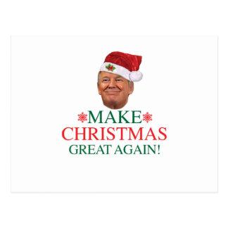 Donald Trump - faça o cartão do excelente do Natal